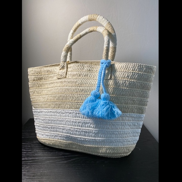Altru Handbags - Fun Straw Beach Bag